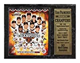Encore Select 520-36 MLB San Francisco Giants Plaque Sports Memorabilia with Custom Name Plate, 12-Inch by 15-Inch