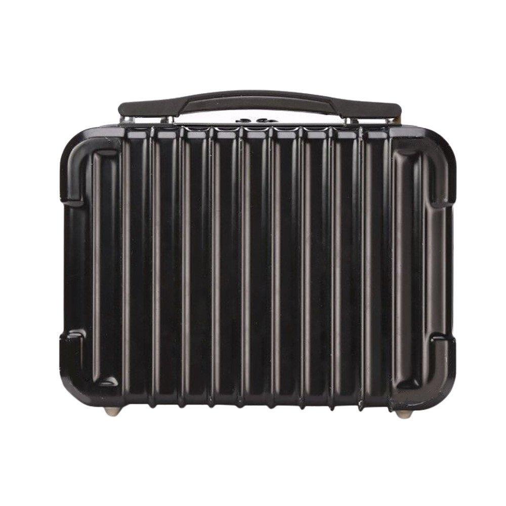 Oldeagle 防水 大容量 ハードシェル バックパック ケース バッグ RC スペアパーツ スーツケース ボックス DJI Spark RC クアッドコプター用 29 x 22 x 12 cm 20181589 B07MV5GWVN ブラック ブラック