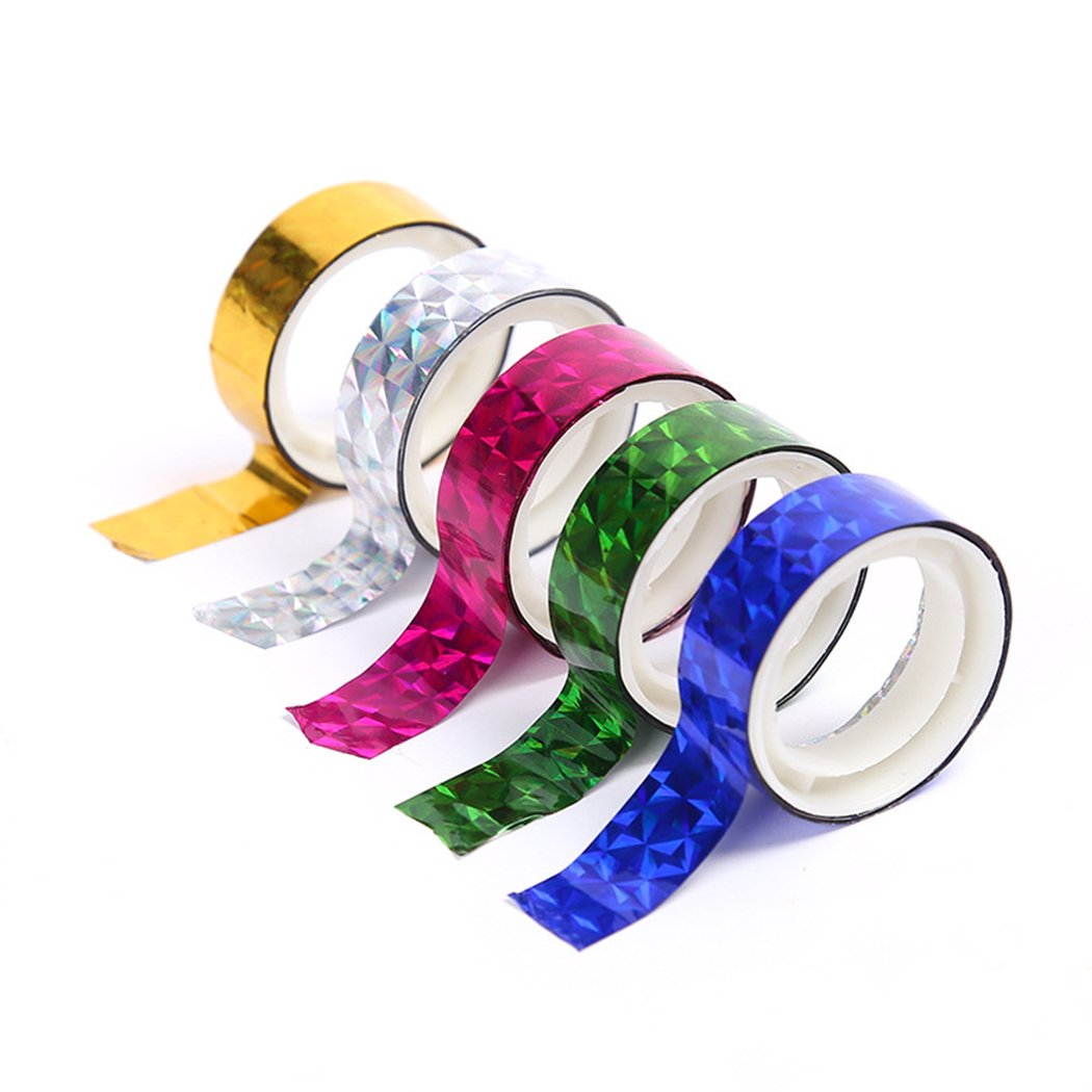 Decorative Tape, Coxeer 36 Rolls DIY Creative Self Adhesive Masking Tape Gift Wrapping Tape Decorative Craft Tape Collection with Colorful Designs and Patterns for DIY and Gift Wrapping by Coxeer