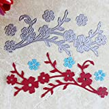 OSYARD Cutting Dies Flowers Card Crafting From China Stencil Templates Shaped Heart Flower Rectangle Numbers Lace Craft Paper Card Album Embossing Stencil