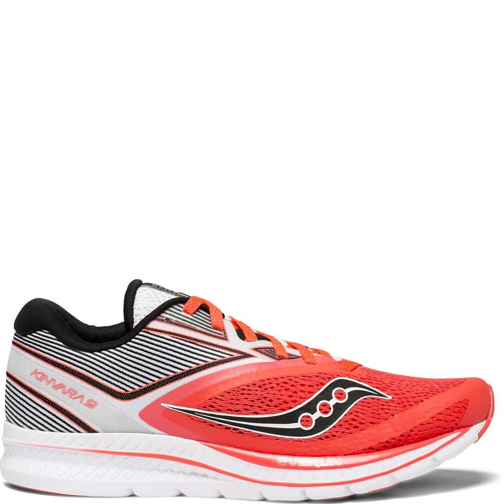 Rouge (Viz rouge   Wht 2) 39 EU Saucony Kinvara 9, Chaussures de Fitness Femme