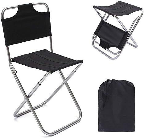 FJROnline Chaise de camping pliante en aluminium léger et