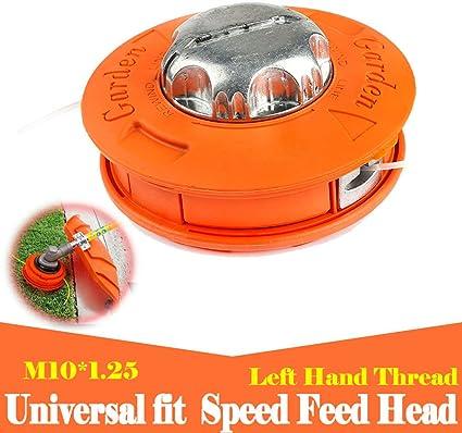 Universal Bump Feed Line String Trimmer Head Whipper Brush Cutter Black Plasti