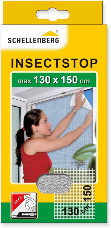 Schellenberg 50329 Moustiquaire pour lucarnes contre insectes//moustiques 150 x 180 cm Anthracite