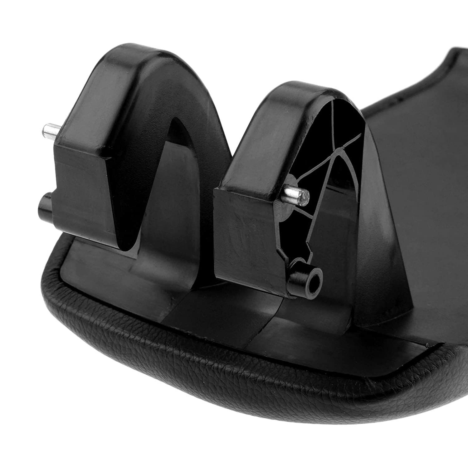 Fits for 2003-2012 Audi A3 S3 A5 Black Lid Cover Cap Pad with Base Plate Aupoko Auto Leather Center Console Armrest Lid Cover 8P0864245P