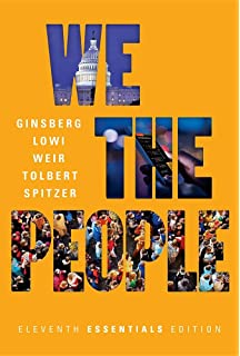 We the people an introduction to american government thomas e we the people eleventh essentials edition fandeluxe Images