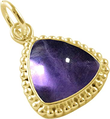 55Carat CHOOSE YOUR COLOR Natural 2 To 10 Carat Round Shape Gemstones Simple Sterling Silver Pendant HandCrafted