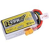 Tattu R-Line LiPo Battery Pack 1550mAh 14.8V 95C 4S with XT60 Plug for FPV Racing