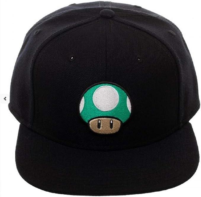 Nintendo Super Mario Bros. Gorra de Seta Verde: Amazon.es: Ropa y ...