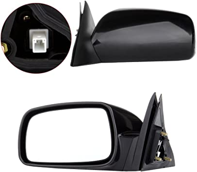 NEW RED Passengers Side Right Door Mirror 2002-2006 Camry USA Heated