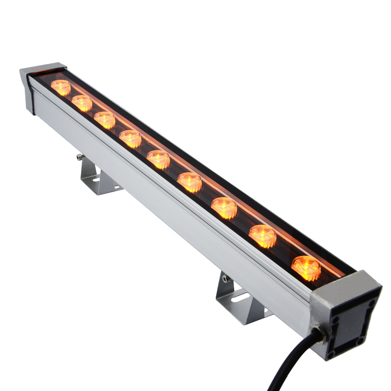 RSN LED Wall Washer 9W Linear Bar Light Yellow Color IP65 Waterproof 2 Years Warranty DJ Party Bar Show LED Stage Light