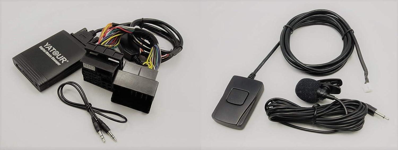 Yatour Ytm06 Frd2 Bt Digitaler Musikadapter Für Usb Sd Elektronik