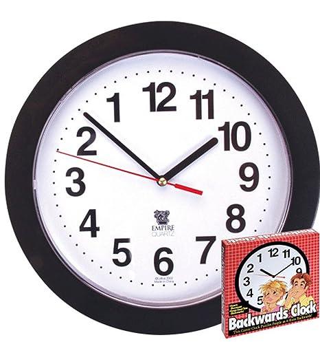 10 Inch Retraso del reloj - 10 pulgadas Reloj Backward Para Prank O Prop