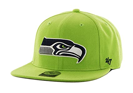 31251b5b6ea4f Image Unavailable. Image not available for. Color  47 Brand - Seahawks Lime  Super Shot - Green