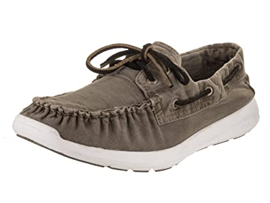 03390375bd Sperry Top-Sider Men s Sojourn Grey Canvas Boat Shoes 8