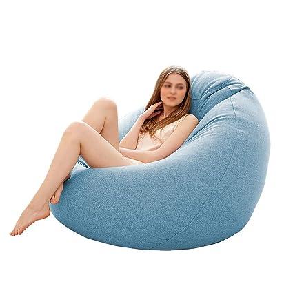 Wondrous Amazon Com Tltllrsf Lazy Couch Bean Bag Single Bean Bag Caraccident5 Cool Chair Designs And Ideas Caraccident5Info