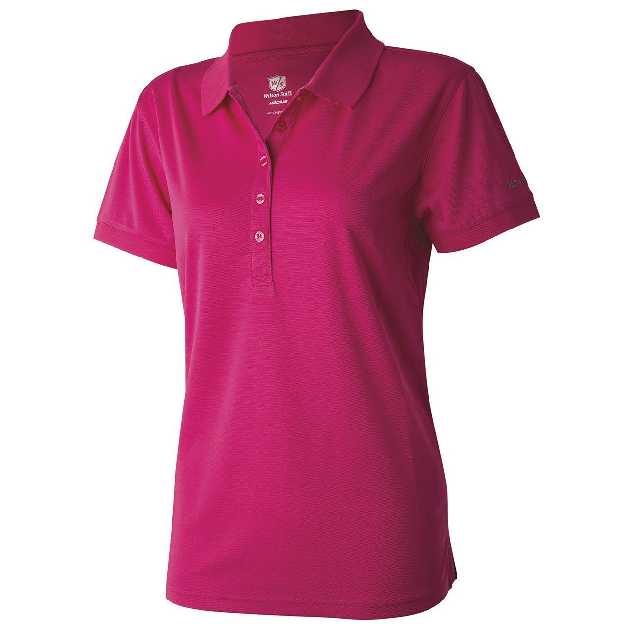 Wilson Staff Ladies Authentic de Polo Camiseta Magenta Color ...