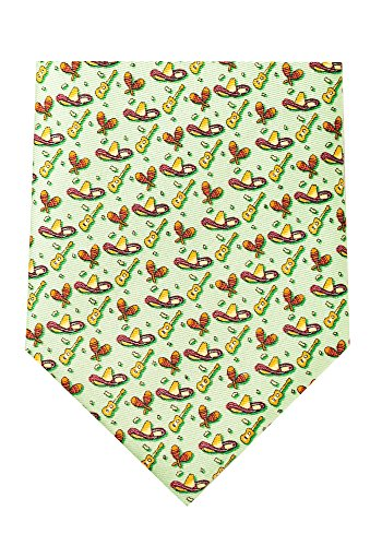 Fiesta - Men's Neckties - Green (Texas Neckties)