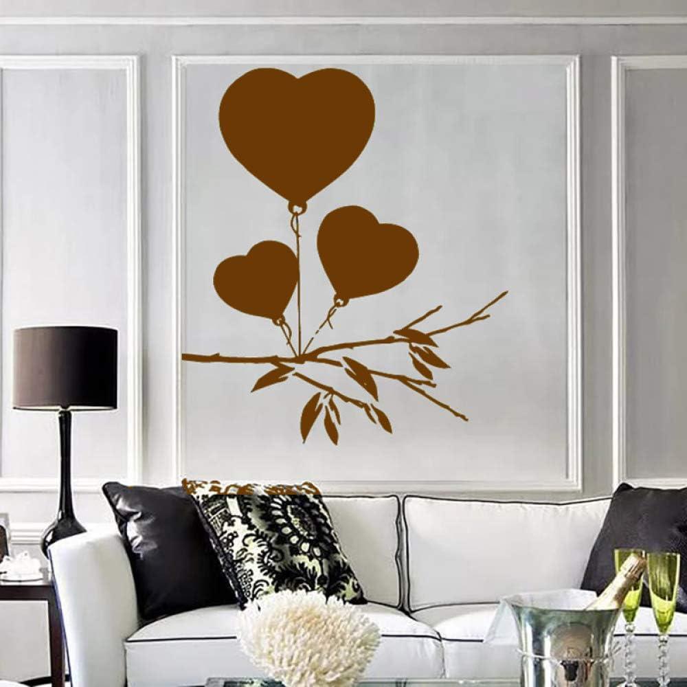 Etiqueta de la pared del arte romántico para los globos del ...