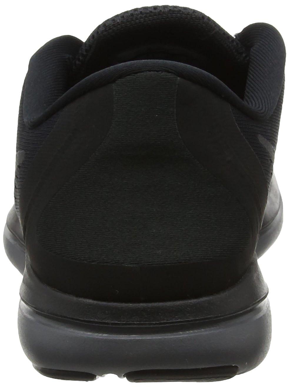 Amazon.com | Nike Womens Flex 2017 Running Shoes Black/Metallic Hematite-Anthracite-Dark Grey 6 | Road Running