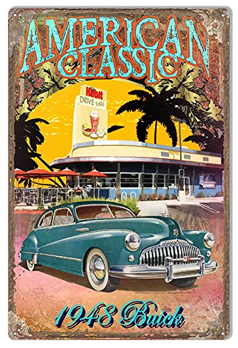 Classic 1948 Buick By Artist Phil Hamilt - Buick Garage Shopping Results