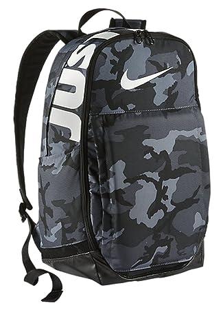 Nike Brasilia Trainingsrucksack, Cool GreyBlackWhite, 48 x 33 x 23 cm