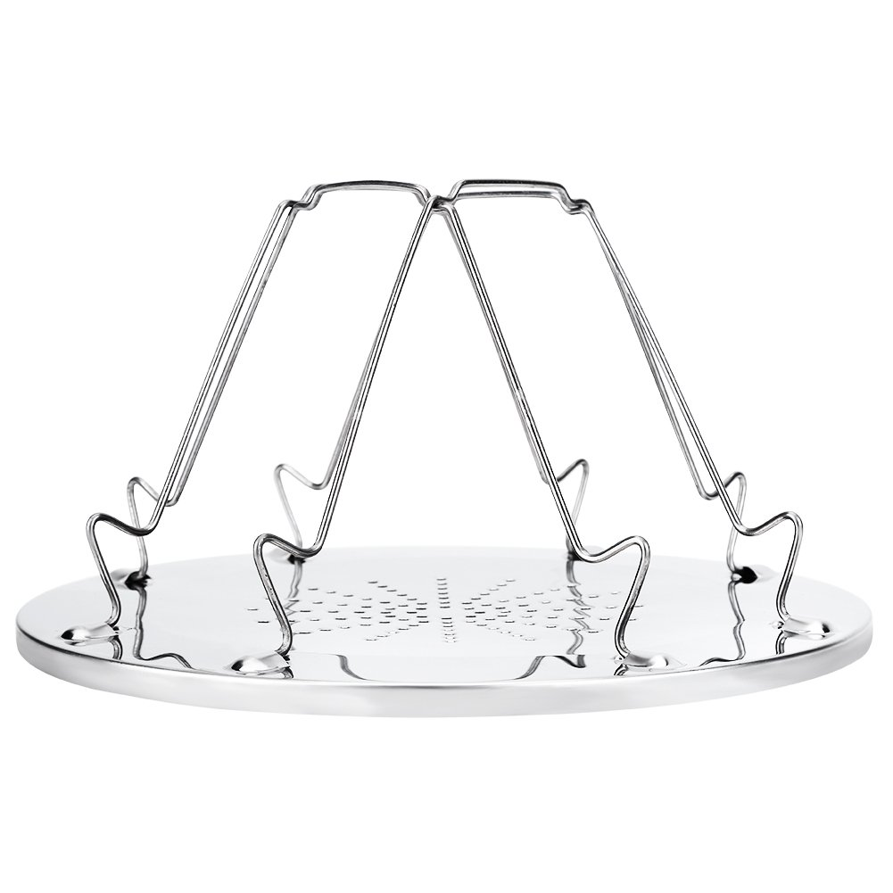 TOPINCN Toast Rack Stainless Steel Bread Foldable Rack for Kitchen Picnic Outdoor Camping