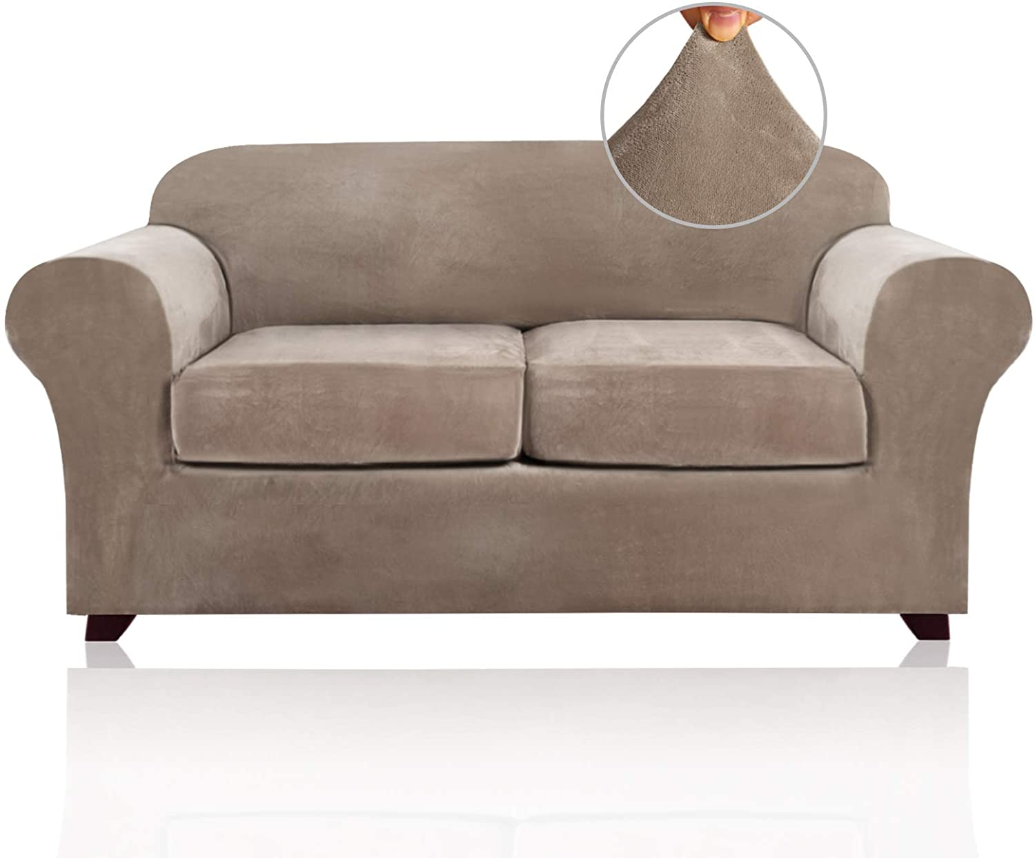 61f ql8cJLL. AC SL1500 - Best Slipcovers For Leather Sofas and Couches (Non-Slip) - ChairPicks