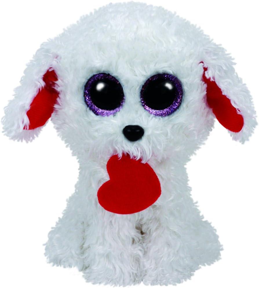 Ty 37210 – Honey Bun, Perro con corazón 15 cm de Peluche: Amazon.es: Juguetes y juegos