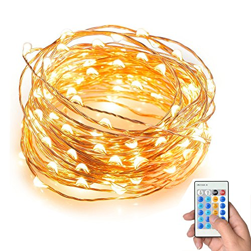 String Lights Keepfit Dimmable 100 Leds String Lights