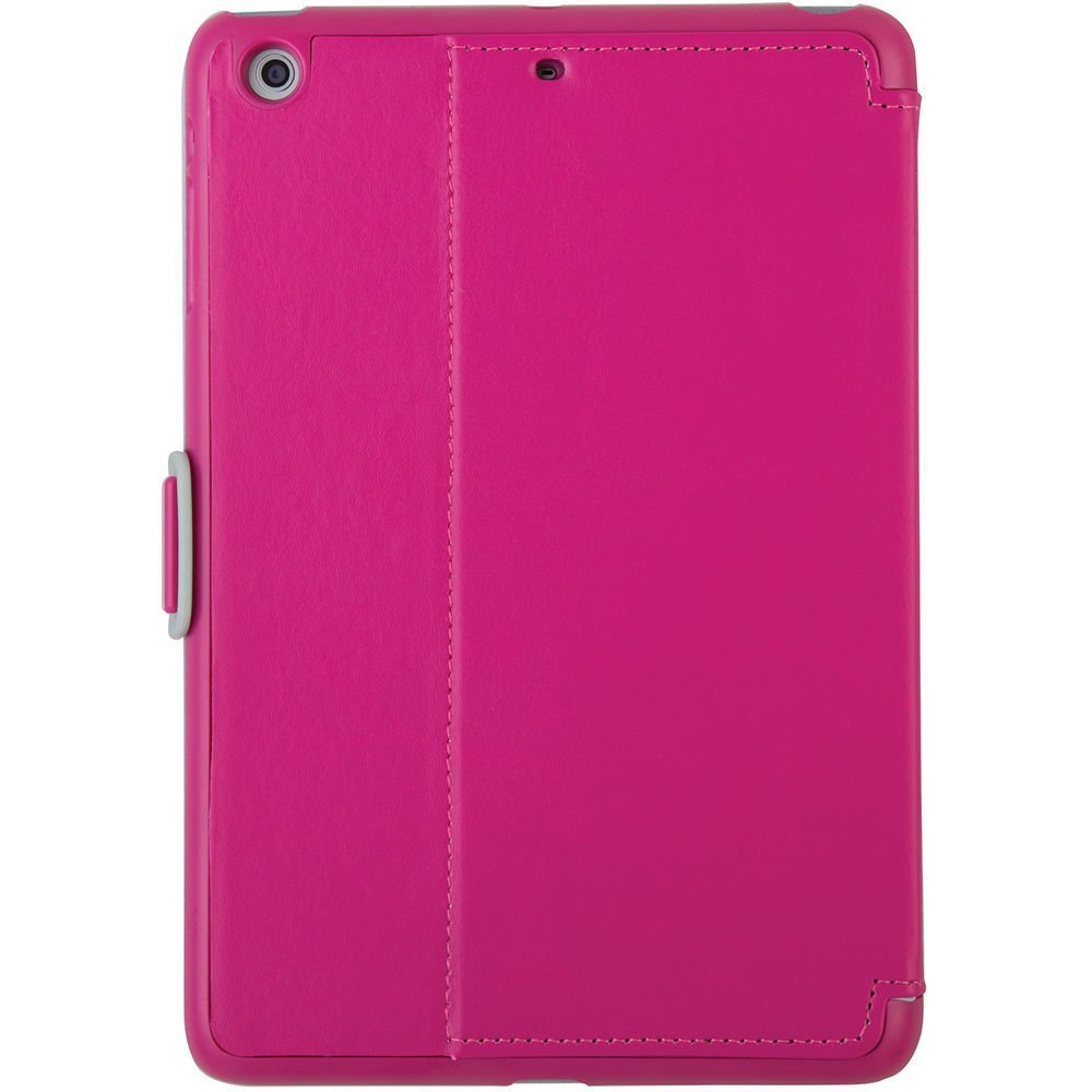 quality design 60eb8 b51cb Speck Products StyleFolio Case for iPad Mini/2/3 - Fuchsia Pink/Nickel Grey  (Does not fit iPad mini 4)