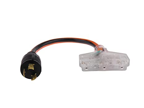 Astounding Amazon Com Mpi Tools Nema L5 30 Generator Power Cord 3 Wire 10 Wiring 101 Louspimsautoservicenl