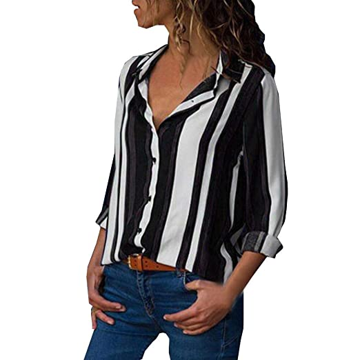 Blouses For Womens Clearance Sale Farjing Womens Casual Long
