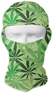 Bandana léger de masque multi sportif tactique de sport d'utilisation de chanvre vert pour la randonnée, courant