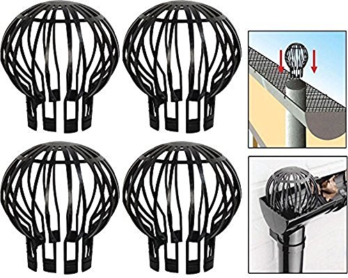 - Massca Down Pipe Gutter Balloon Guard Filter Strainer - Pack of 4