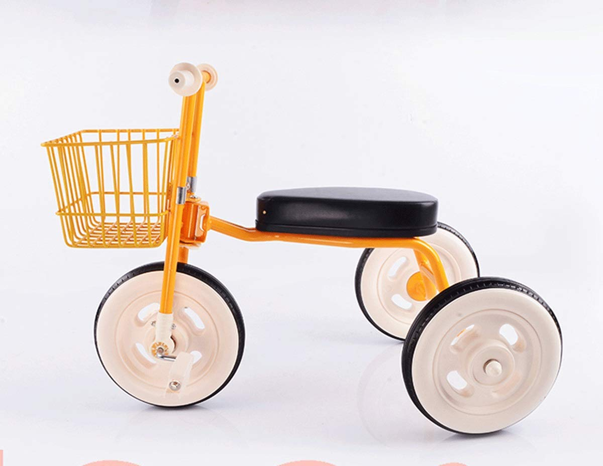 Children's Tricycle Baby Bicycle Kids Bicycle Simple Bicycle Push Rod Trolley