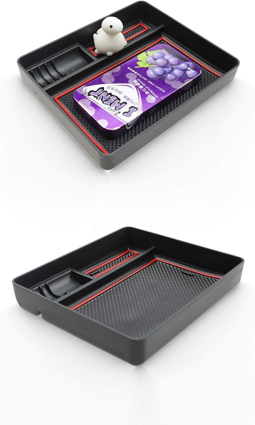 Noly for manual brake version Ruiya storage box storage box centre console organiser armrest box adapted for 2015-2018 H Yundai Tucson 2