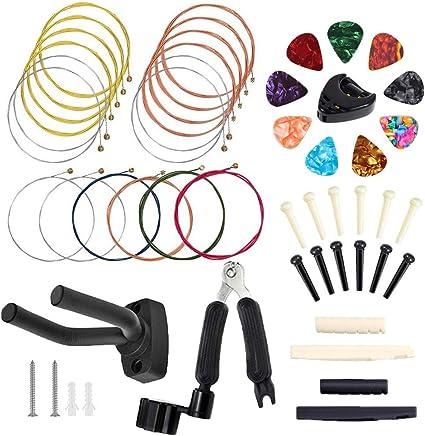 Bosunny - Juego de accesorios para guitarra acústica (50 unidades ...