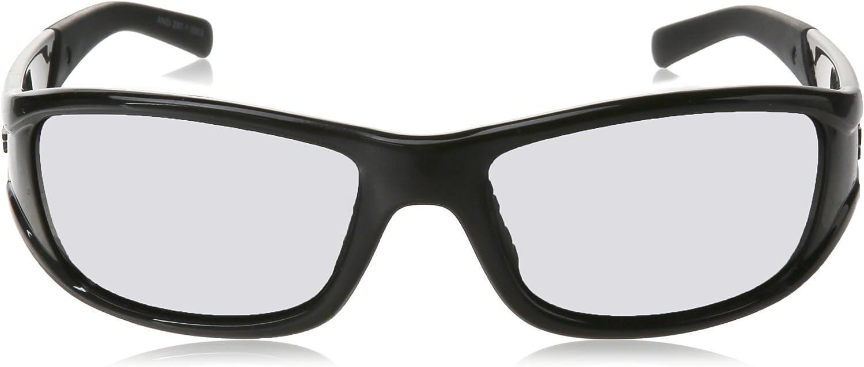 Black Frame//Dark Smoke Lens LIFT Safety EAS-10KP Alias Safety Glasses