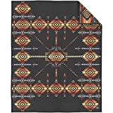 Pendleton Heritage Collection Robe Blanket One Size Dark Charcoal