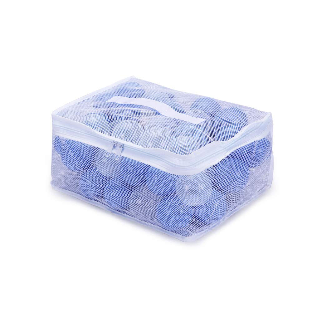 2.36inches Phthalate/&BPA Free Plastic Ocean Balls for Kids Toddlers and Babys for Playhouse Play Tent Playpen Pool Party Decoration Pack of 70 PlayMaty Ball Pit Balls Blue/&Transparent