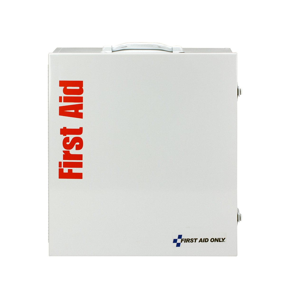 First Aid Only 90790 ANSI 2015 Compliant 3 Shelf First Aid Station without Medications