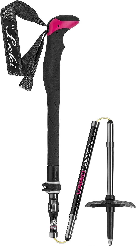 LEKI Damen Tour Stick Vario Carbon Skist/öcke Skist/öcke NEU