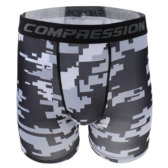 Gazechimp Pantalones Cortos de Compresión Ropa de Correr ...