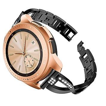 XingWangFa for Samsung Galaxy Watch (42mm) Straps Correas [X Type ...