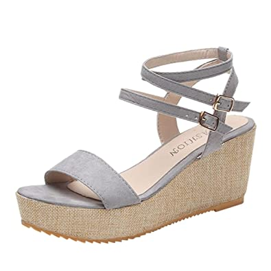 get new variousstyles discount Lolittas Wedge Sandals Women Ladies, Summer Walking Leather High Heel  Platform Wide Fit Peep Toe Slingback Lace up Outdoor Shoes