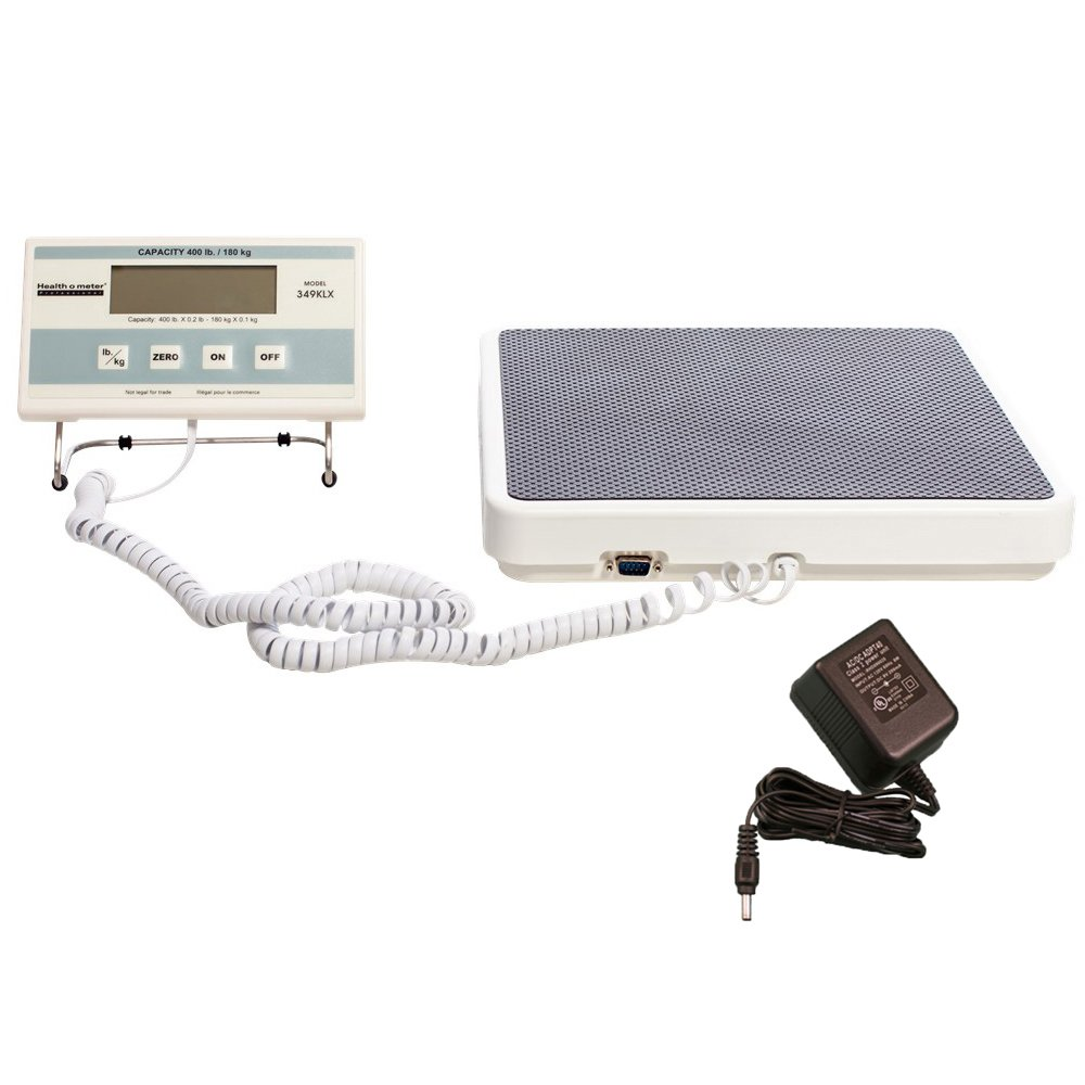 Health o meter Professional 349KLX Digital Floor Medical Scale, 400 lb/180 kg Capacity