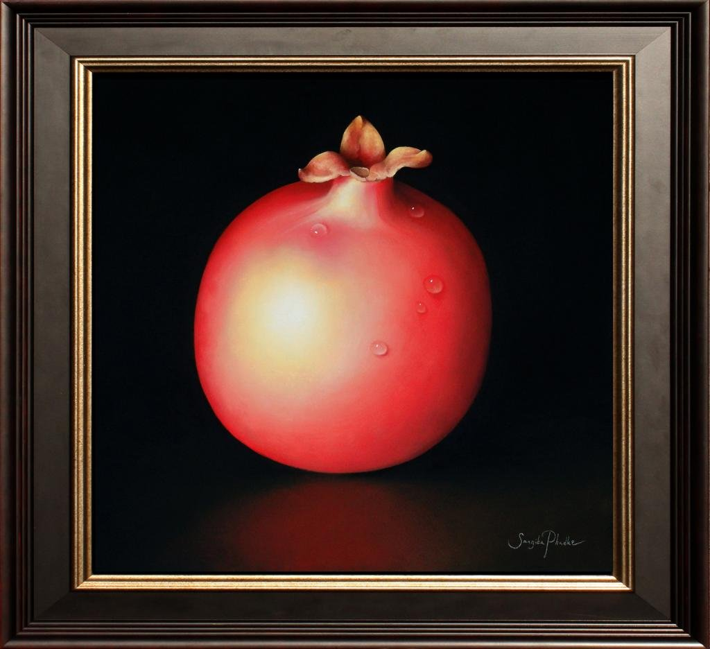 Red Pomegranate by