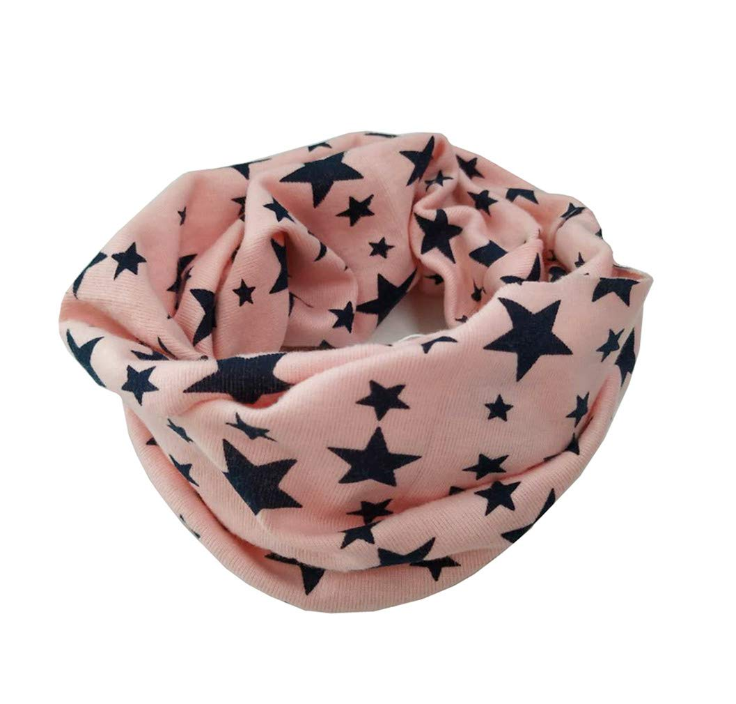 TheWin Children Warmer Star Scarf, Colorful