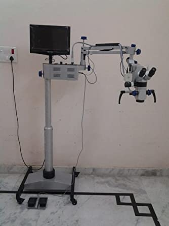Motorized 10 MG Scientific ENT Operating Microscope 5 Step LCD Camera